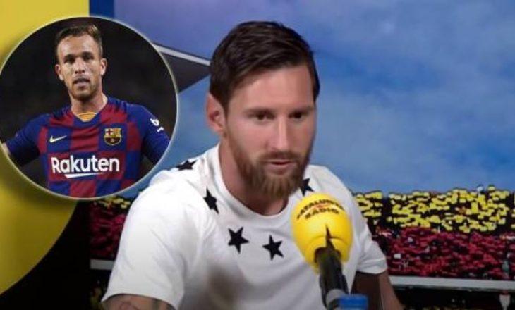 Juventusi prezanton Arthurin, Messi ishte kundër këtij transferimi – shikoni çfarë kishte thënë argjentinasi