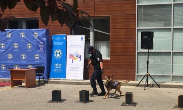 Policia e Kosovës pranon donacion 5 qenë për Njësitin K9
