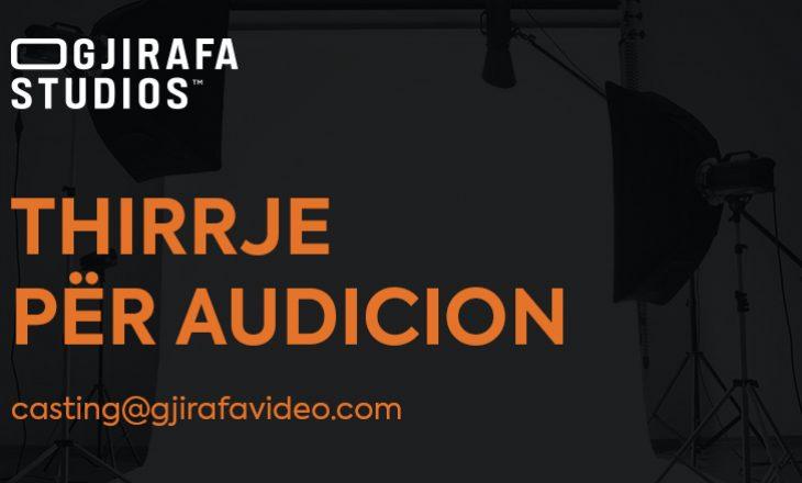 GjirafaStudios kërkon moderatorë, prezantues; Thirrje për audicion
