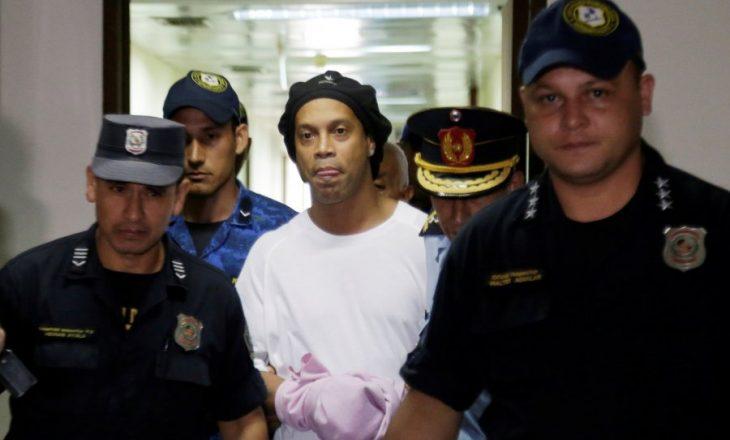 Ronaldinho do të lirohet nga arresti shtëpiak