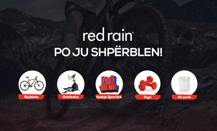 Red Rain po jep super shpërblime!