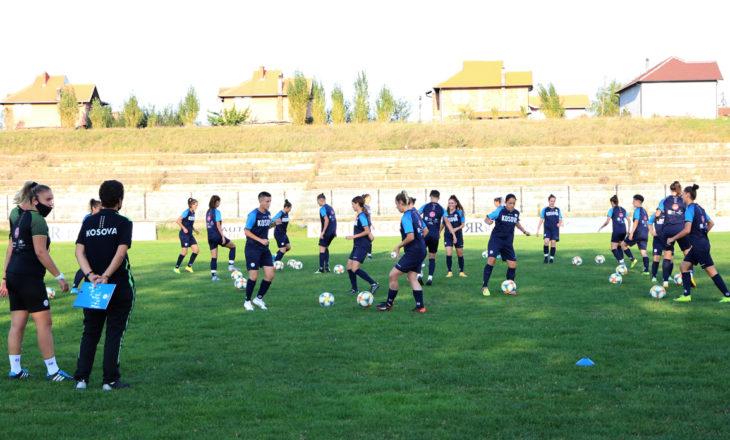 Kombëtarja e femrave me forca vendore, optimizëm para ndeshjes me Estonisë